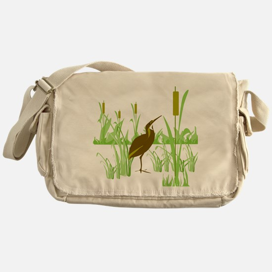 American Bittern Messenger Bag