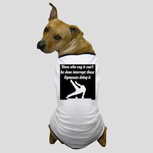 GYMNAST STAR Dog T-Shirt