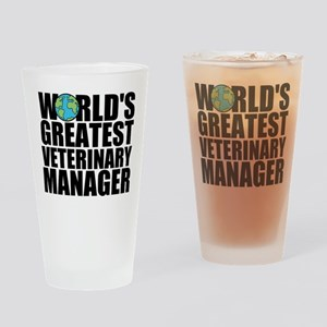 World's Greatest Veterinary Manager Drinking G