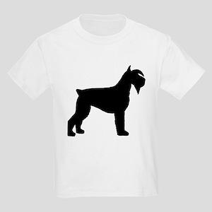 Schnauzer Dog Kids Light T-Shirt