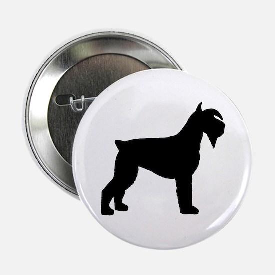 Schnauzer Dog Button