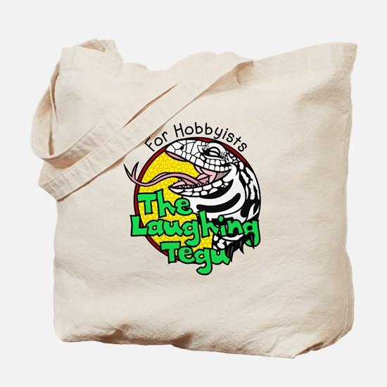 The Laughing Tegu Tote Bag