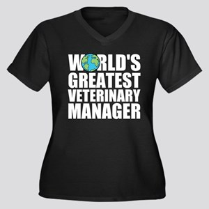 World's Greatest Veterinary Manager Plus Size