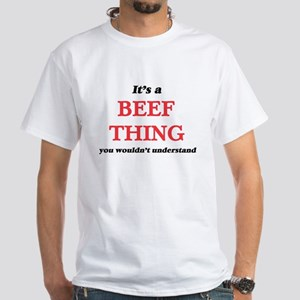It's a Beef thing, you wouldn't un T-Shirt