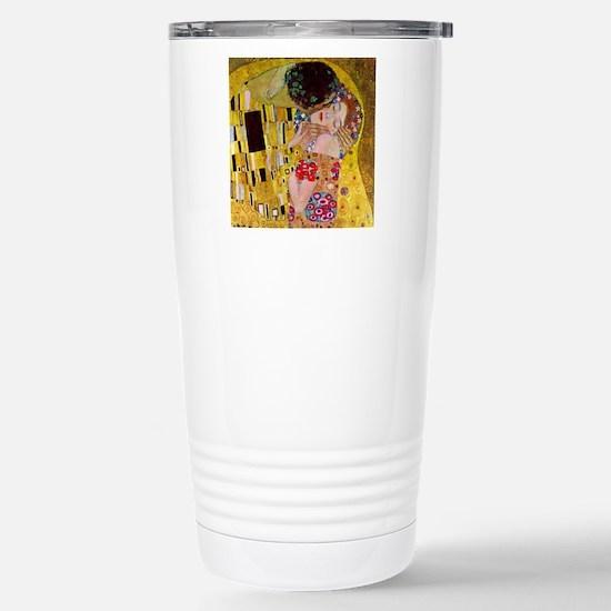 The Kiss detail, Gustav Stainless Steel Travel Mug