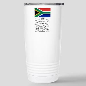 South African Slang Stainless Steel Travel Mug