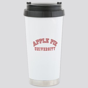 Apple Pie University Stainless Steel Travel Mug
