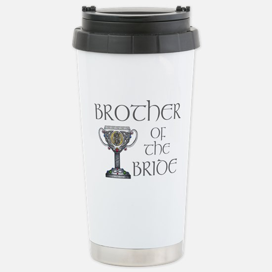 Celtic Brother Bride Stainless Steel Travel Mug