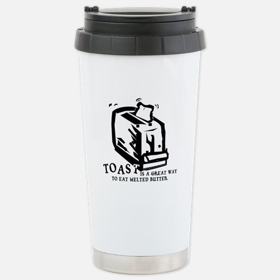 Toast Butter Stainless Steel Travel Mug