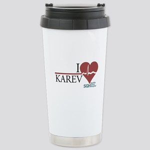 I Heart Karev - Grey's Anatomy Ceramic Travel Mug