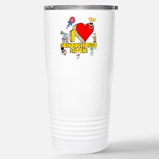 I Heart Schoolhouse Rock! Ceramic Travel Mug