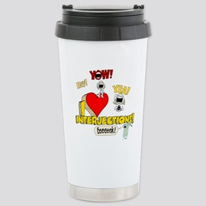 I Heart Interjections - Schoolhouse Rock! Ceramic