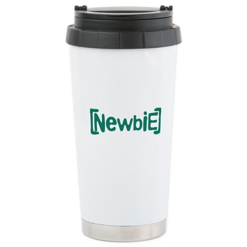 Newbie Stainless Steel Travel Mug