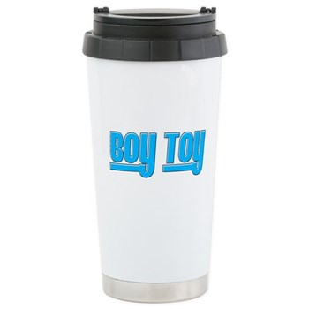 Boy Toy - Blue Stainless Steel Travel Mug