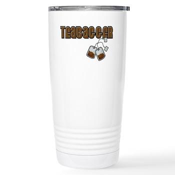 Teabagger Stainless Steel Travel Mug