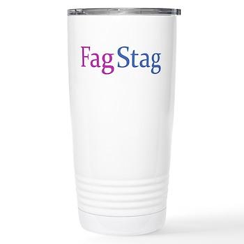 Fag Stag Stainless Steel Travel Mug