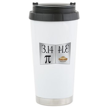 PI 3.14 Reflected as PIE Stainless Steel Travel Mu