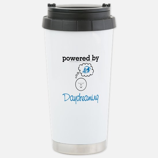 poweredbydaydreaming black.png Stainless Steel Tra