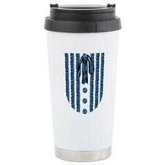 lace-front_bl Stainless Steel Travel Mug
