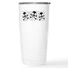 cute-skulls-black_mug Stainless Steel Travel M