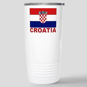 croatia_b Stainless Steel Travel Mug