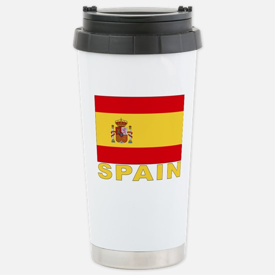 spain_b.gif Stainless Steel Travel Mug