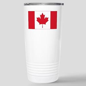 canadian-flag Stainless Steel Travel Mug