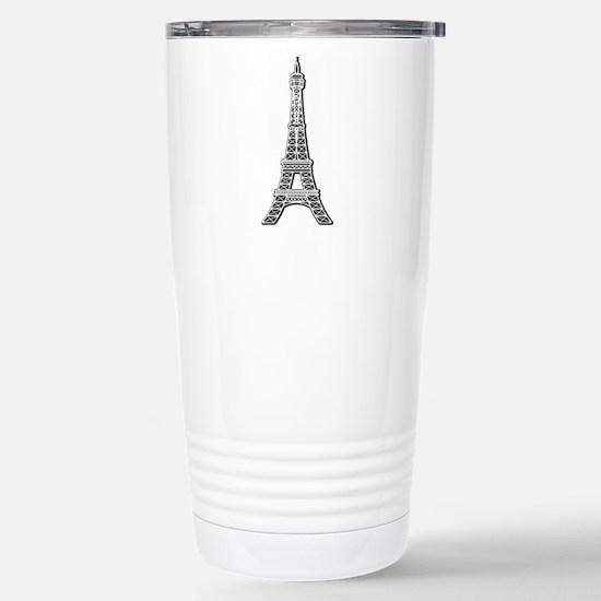 EIFFEL-TOWER.png Stainless Steel Travel Mug