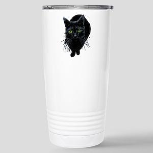 black-kitty Stainless Steel Travel Mug