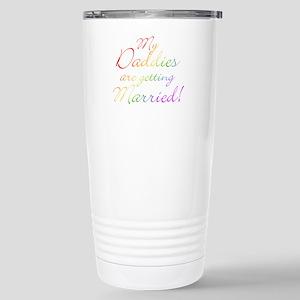 gay_wedding_daddies Stainless Steel Travel Mug
