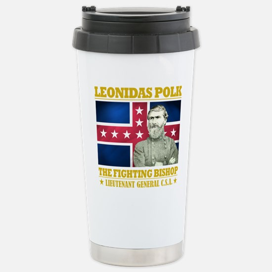 The Fighting Bishop.png Stainless Steel Travel Mug