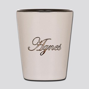 Gold Agnes Shot Glass