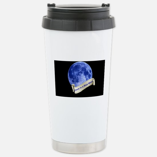Once in a Blue Moon Stainless Steel Travel Mug