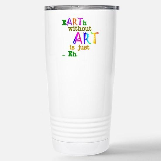 EarthWithoutArt Travel Mug