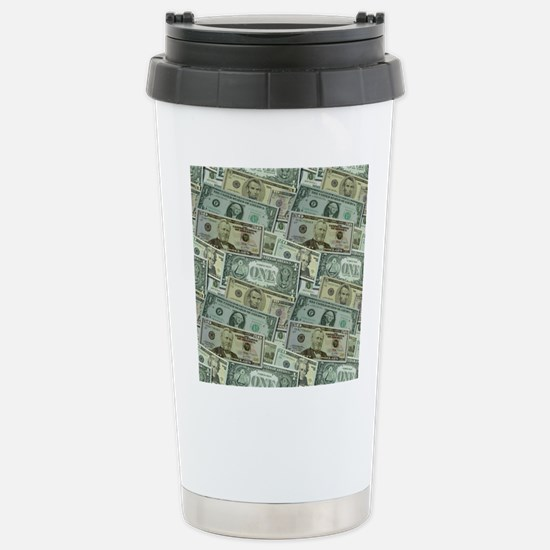 Easy Money Stainless Steel Travel Mug