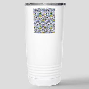 Fully Licensed Stainless Steel Travel Mug