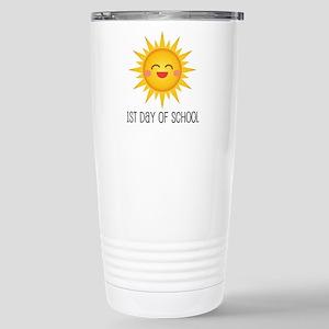 1st Day Of School sun Stainless Steel Travel Mug