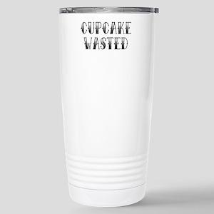 CUPCAKEWASTED.png Stainless Steel Travel Mug