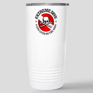 Extreme Dive (Skull) Stainless Steel Travel Mug
