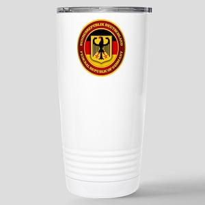 German Emblem Stainless Steel Travel Mug