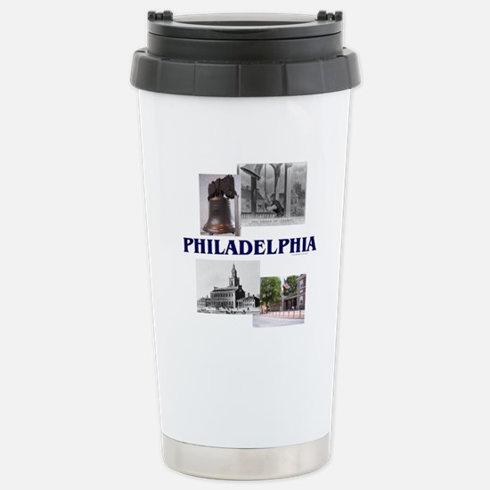 ABH Philadelphia Stainless Steel Travel Mug