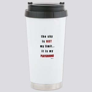 the sky is not Stainless Steel Travel Mug