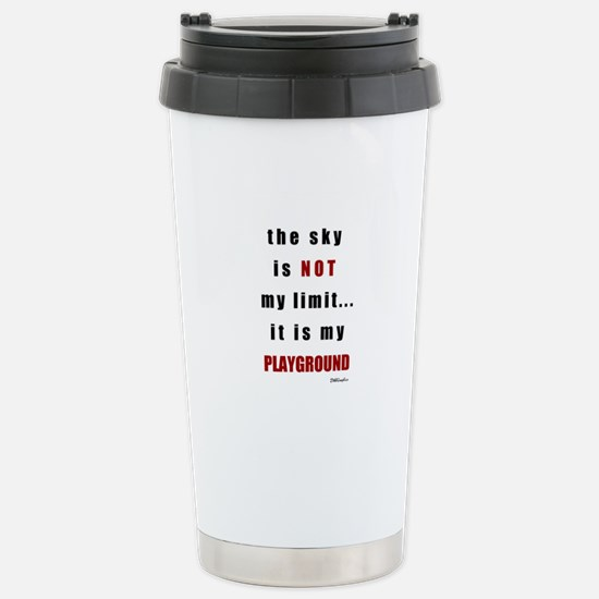 the sky is not.png Stainless Steel Travel Mug