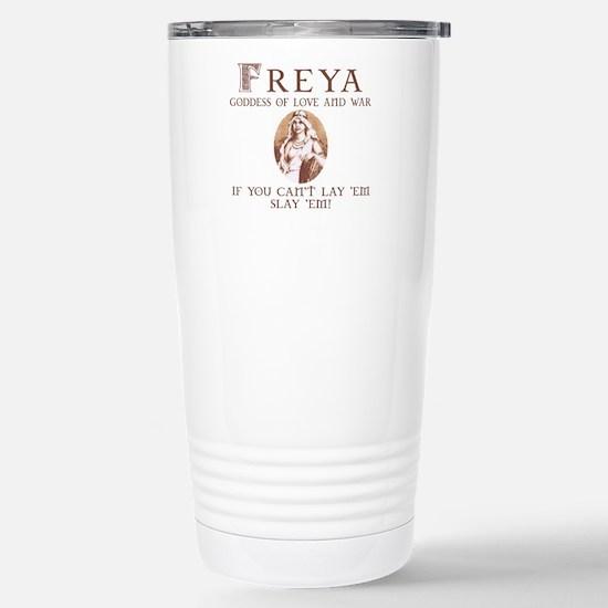 Freya Love and War Stainless Steel Travel Mug