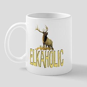 Elkaholic gear and gifts  Mug