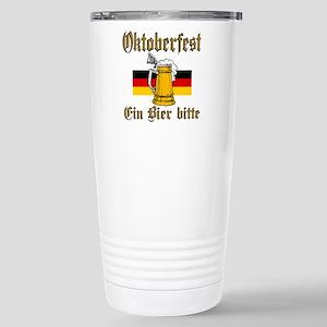 ein beer Stainless Steel Travel Mug