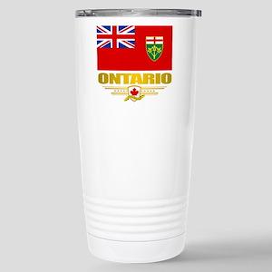 Ontario Pride Stainless Steel Travel Mug
