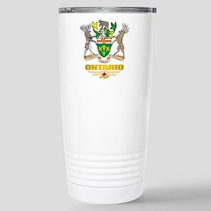 Ontario COA Stainless Steel Travel Mug