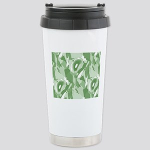 incognito green Stainless Steel Travel Mug