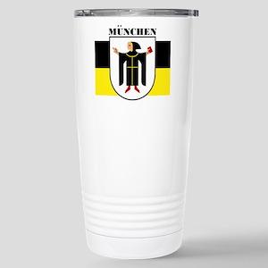 Munich (blk) Stainless Steel Travel Mug